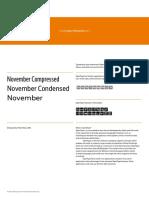 November Info