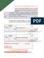 La présentation des impots différés dans le tableau N°09 de la liasse fiscale.xlsx