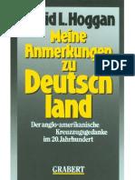 Hoggan, David L. - Meine Anmerkungen Zu Deutschland