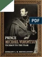 Anthony Laurens Hamilton Rhinelander - Prince Michael Vorontsov_ Viceroy to the Tsar-Carleton University Press (1990)