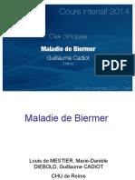 Cas clinique Maladie de Biermer-guillaume 2014(fait)