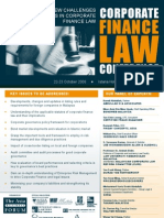 Brochure on a Law Conference