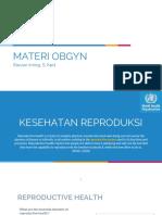 Materi Obgyn 1 @sleep_devotee 5 Mei 2020