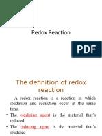 3.1 Redox Reaction (1)