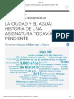 1. IDU - LA CIUDAD Y EL AGUA