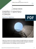 2. IDU - Diseño y Sentido Comun