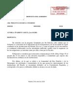 Resposta del govern espanyol sobre la renuncia de Felip VI a l'herència