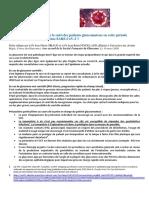 Quelle Conduite a Tenir Pour Le Suivi Des Patients Glaucomateux - Covid-19 0