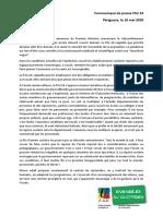 Communiqué de Presse FSU 24