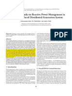 Reactive power management in inverter-interfaced