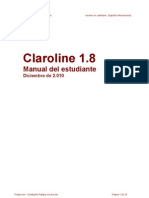 Manual Estudiante Claroline (Español internacional)