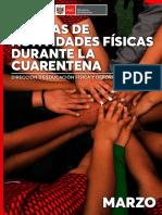 ACTIVIDADES FISICAS EN CASA