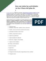 Guía completa con todas las actividades permitidas en las 4 fases del plan de desescalada