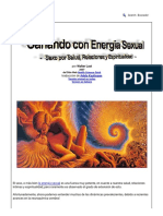 Sanando con Energía Sexual - Sexo por Salud, Relaciones y Espiritualidad