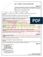 Class 9 Science - Chapter 3 Atoms and Molecules.pdf