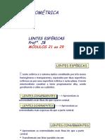 LENTES - MOD. 21 AO 29