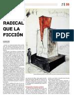 Más radical que la ficción