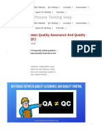 Difference Between Quality Assurance and Quality Control (QA vs QC)