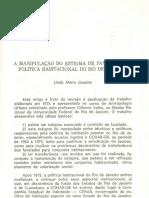GONDIM, Linda Maria - A manipulacao do estigma de favelado 1982.pdf