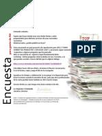 Completarías esta Encuesta? (10') / Efectividad en la venta de servicios e ideas según percepción de RH