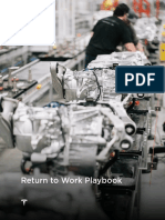 Tesla Return to Work Playbook