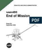 Galileo End of Mission Press Kit