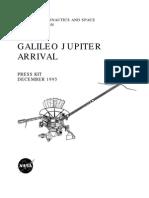 Galileo Jupiter Arrival Press Kit