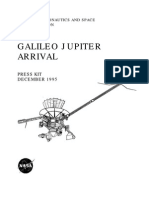 Galileo Jupiter Arrival Press Kit