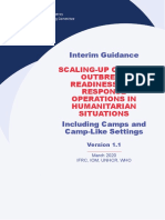IASC Interim Guidance on COVID-19 for Outbreak Readiness and Response Operations - Camps and Camp-like Settings