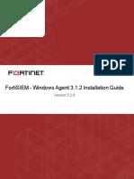 FortiSIEM-5.2.6-Windows_Agent_3.1.2_Installation_Guide