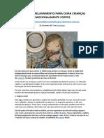 8 JOGOS DE RELAXAMENTO PARA CRIAR CRIANÇAS EMOCIONALMENTE FORTES