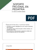 SOPORTE NUTRICIONAL EN PEDIATRIA -CASO CLINICO