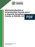 Recomendações IE Esporte Covid19 Mezzadri & Schmitt