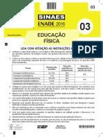 Prova Enade Educação Física  ENADE - 2016.pdf
