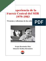 La experiencia de la Fuerza Central del MIR 1979-1983.pdf