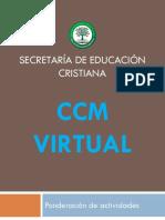 Evaluación de evidencias CCM Virtual