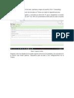 configuracion de troncales y apertura de puertos