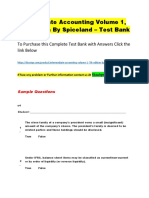 Intermediate Accounting Volume 1, 7th Edition by Spiceland – Test Bank