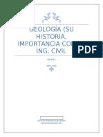 Geología (ensayo)