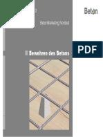 Bewehren Des Betons Beton Seminare 2013