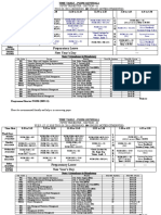 Time table for Week 12 (27.12.2010 to 01.01.2011)