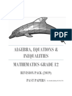 2019 GRADE 12 ALGEBRA, EQUATIONS AND INEQUALITIES.pdf