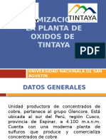 OPTIMIZACION PLANTA TINTAYA.pptx