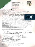 Derecho Petición a Dadis Solicitando Visita Para Fumigación