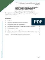 SN047a-Méthodes simplifiées pour prendre en compte des charges équivalentes en vue de l'analyse globale de structures contreventées ou non contreventées