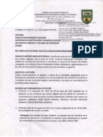 Derecho Petición a Alcaldía_solicitud Capacitación Conciliadores en Equidad_03ago2016