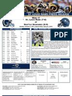 Week 17 - Rams at Seahawks