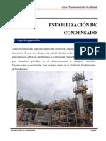 10. Estabilización de condensado