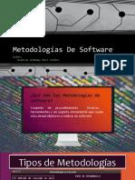 Metodologías De Software