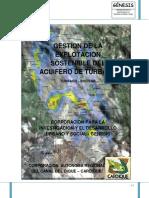 Gestion para la explotacion sostenible del Acuifero de Turbaco